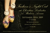 Christian Louboutin Fashion Night Out