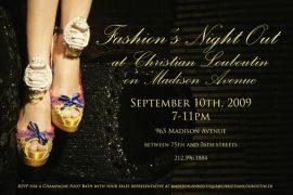 Christian Louboutin Fashion's Night Out