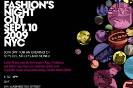 Fashion's Night Out with DVF