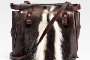 Fendi Skunk Fur Peekaboo Bag