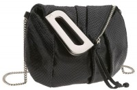Kooba LIzard Embossed Mini Crossbody Bag