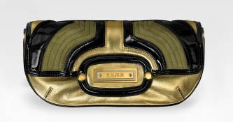 LAMB Deco Fisher Gilded Clutch