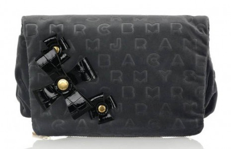 Marc by Marc Jacobs Stamped Velvet Magazine Clutch