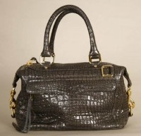 Rebecca Minkoff Croc-Embossed Morning After Mini Bag