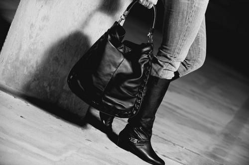 Yves Saint Laurent Roady in B/W