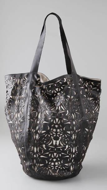 Zimmerman Lace Cutout Bag