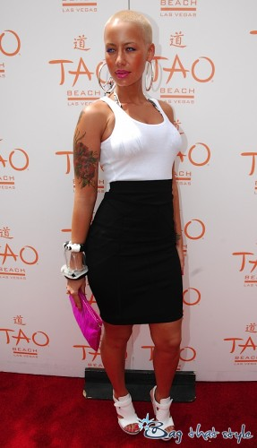Amber Rose Givenchy Clutch