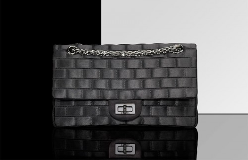 Chanel Classic Flap with interlaced ribbons