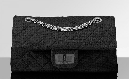 Chanel Extra Large Flap Bag in quilted tweed