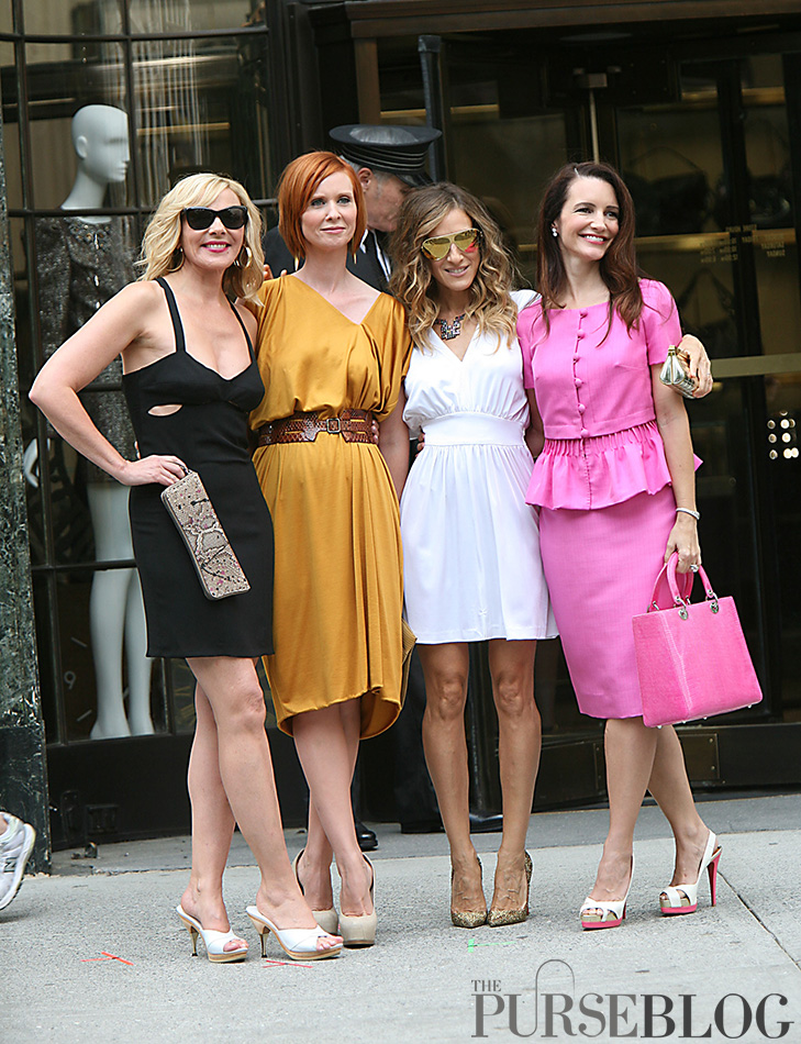 Sex And The City 2 The Gang Is All Here Purseblog