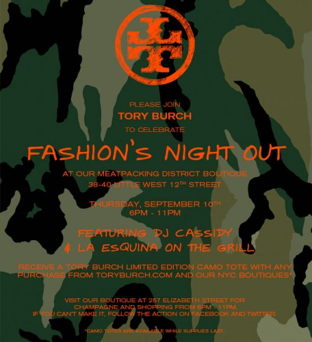Tory Burch Fashions Night Out