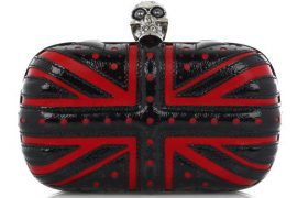 Alexander McQueen Union Jack Box Clutch