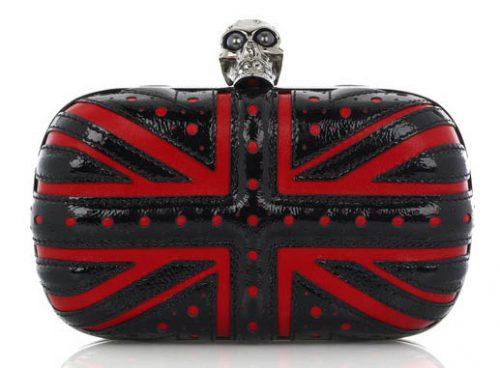 Alexander McQueen Union Jack Box Clutch
