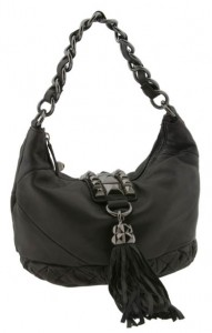 Betsey Johnson Whips and Studs Small Hobo
