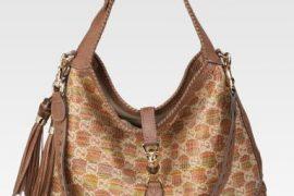 Gucci Jackie Raffia Shoulder Bag