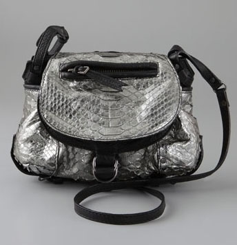 Jerome Dreyfuss Twee Mini Python Bag