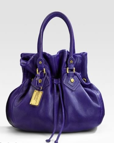 Marc by Marc Jacobs Classic Q Drawstringy Leather Bag