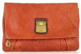 Marc by Marc Jacobs Magazine Leather Clutch