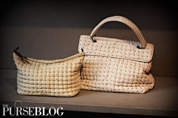 Bottega Veneta Canevas Boutis Bag - $2,410 | Paille Boutis Bag - $1,290
