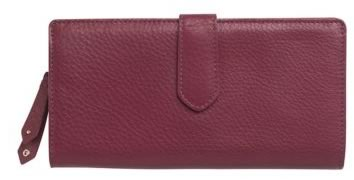 Cole Haan Leather Zip Wallet