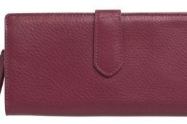 Cole Haan Village Leather Zip Wallet