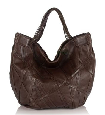 Dautore Leather Lattice Tote