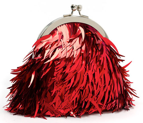 Franchi Feather Frame Clutch