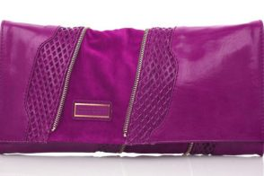 Jimmy Choo Martha Perforated Clutch