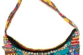 Simone Camille Handmade Vintage 2 Tier Handbag