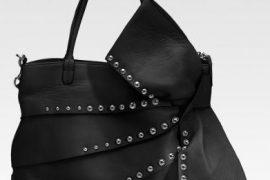 Valentino Nappa Studded Bow Tote