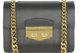 Yves Saint Laurent Small Satin Chain-Strap Bag