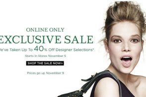 Exclusive Saks Sale Event Going On Now!