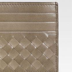 Bottega Veneta Woven Flat Card Case - $200