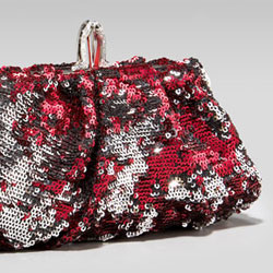 Christian Louboutin Sequined Pouch - $995