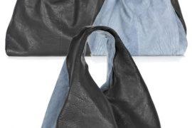 Alexander Wang Slouchy Leather Shoulder Bag