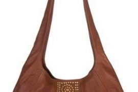 B-low the Belt Rocking Nita Studded Leather Hobo