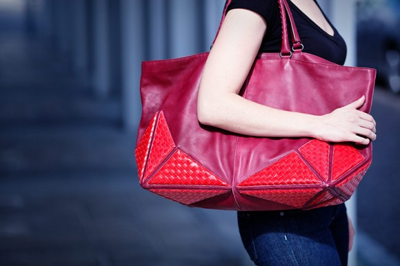 Bottega Veneta Karung Nappa Umbria Shopper