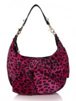 Betsey Johnson Hottie Spotty Velour Hobo