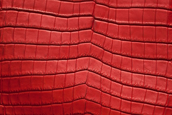 Bottega Veneta Soft Crocodile Fume Large Veneta: Detail