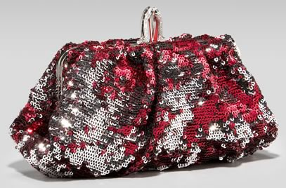 Christian Louboutin Sequined Pouch