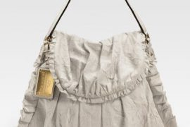 Dolce & Gabbana Miss Rouche Ruffled Shoulder Bag