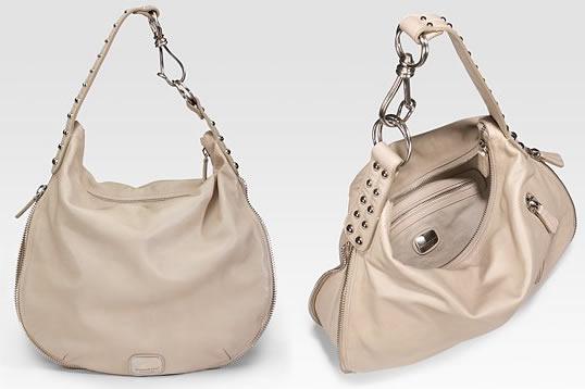 Donna Karan Large Expandable Shoulder Bag