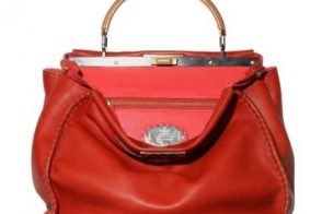 Fendi Peekaboo Bicolor Top Handle