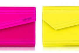 Jimmy Choo Candy Acrylic Clutches