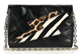 Jimmy Choo Conti Snakeskin Shoulder Bag