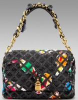 Marc Jacobs Jennifer Bird Cage Shoulder Bag