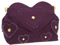 Marc by Marc Jacobs Party Girl Heart Applique Clutch