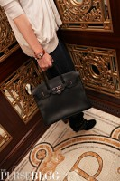Hermes 35cm Clemence Birkin at The Plaza