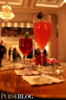 Cocktails at the Champagne Bar