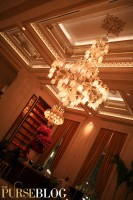 The Plaza's Champagne Bar Chandelier